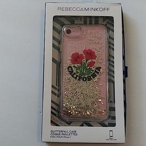 Rebecca Minkoff California GlitterFall iPhone 7